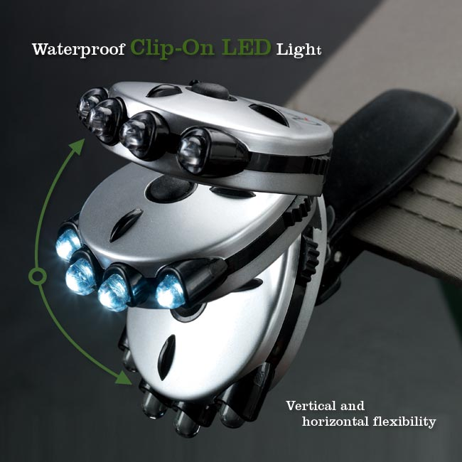 Waterproof Clip-On LED Light