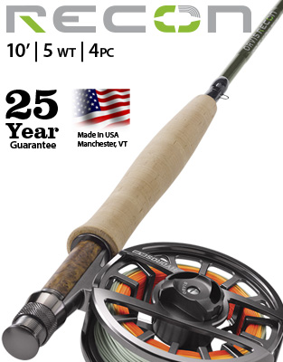 Recon 10' 5 weight Fly Rod Outfit